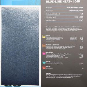 Bleu line 10 dB ondervloer